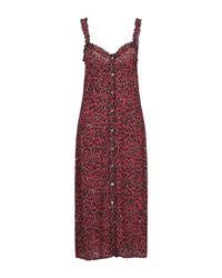 Vestito longuette di ANDAMANE in Red