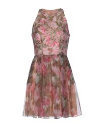 Matthew Williamson - Pink Short Dress - Lyst