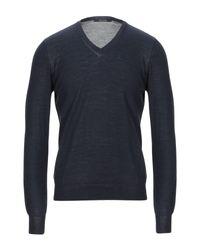 Pullover Tagliatore pour homme en coloris Blue