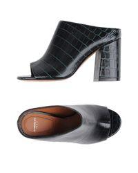 Givenchy Black Sandals