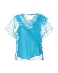 Blusa di Marco Bologna in Blue
