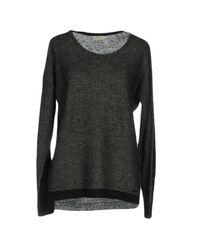 Calvin Klein Black Sweaters