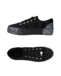 CafeNoir Black Low Sneakers & Tennisschuhe