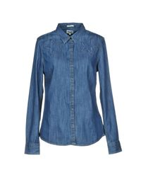 Wrangler Blue Denim Shirt