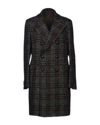 Tagliatore Black Coat for men