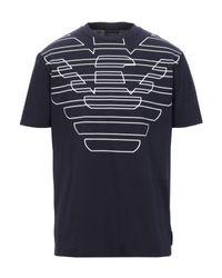 Camiseta Emporio Armani de hombre de color Blue