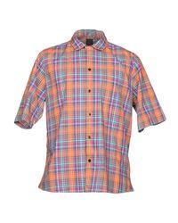Albam Orange Shirt for men