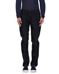 Bikkembergs Blue Denim Pants for men