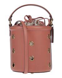 Borsa a mano di COACH in Pink