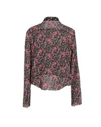 COACH - Pink Jacket - Lyst