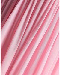 Vestido largo Delpozo de color Pink