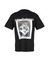 T-shirt John Richmond pour homme en coloris Black