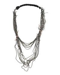Emanuele Bicocchi Black Necklace