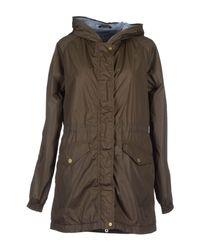 Duvetica Gray Mid-length Jacket