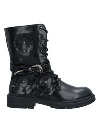 Sexy Woman Black Ankle Boots