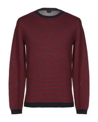 Pullover Mp Massimo Piombo pour homme en coloris Red
