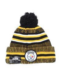 Sombrero KTZ de hombre de color Yellow