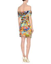 Moschino - Yellow Short Dress - Lyst