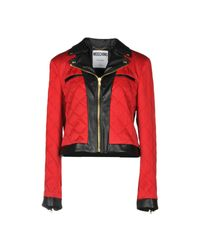 Moschino - Red Jacket - Lyst