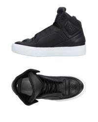 Maison Margiela Black High-tops & Sneakers for men