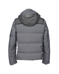 Parajumpers Gray Down Jacket for men