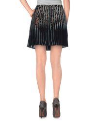 Roberto Cavalli Black Mini Skirt