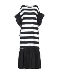 Brigitte Bardot Black 3/4 Length Dress