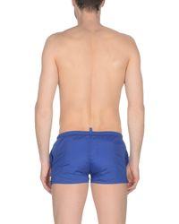 Short de bain DSquared² pour homme en coloris Blue