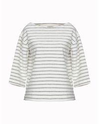 By Malene Birger White Sweatshirt