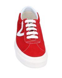Vans Red Low-tops & Sneakers
