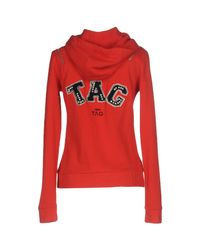 Pinko Red Sweatshirt