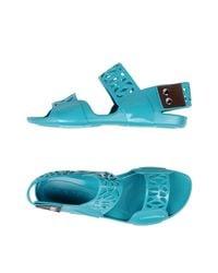 Marni Blue Sandals