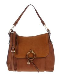 See By Chloé - Brown Handbag - Lyst