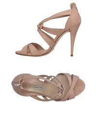 Gianni Marra Natural Sandals