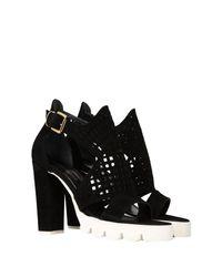 Pierre Darre' Black Sandals