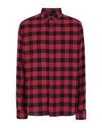 Camicia di Dondup in Red da Uomo