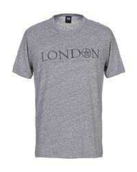T-shirt di Obey in Gray da Uomo