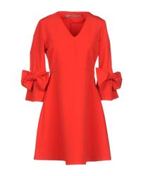 Minivestido Angela Davis de color Red