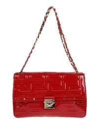 Versace Red Shoulder Bag