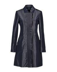 Aspesi Blue Overcoat