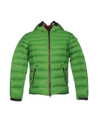 Ai Riders On The Storm - Green Down Jacket for Men - Lyst