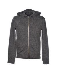 T By Alexander Wang - Gray Sweatshirts for Men - Lyst