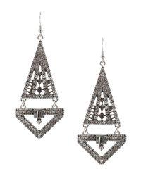 Jolie By Edward Spiers - Metallic Earrings - Lyst