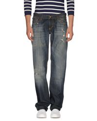 Dolce & Gabbana Blue Denim Pants for men