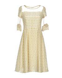Sonia Fortuna White Short Dress