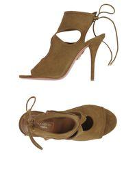 Aquazzura Multicolor Sandals