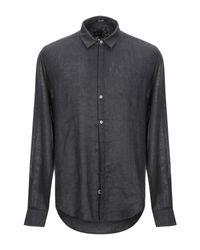 Camicia di Officina 36 in Gray da Uomo