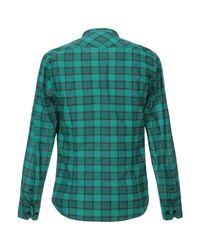 Paolo Pecora Green Shirt for men