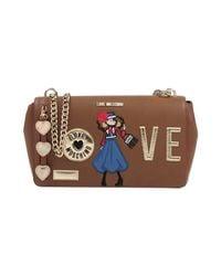 Love Moschino - Brown Cross-body Bags - Lyst