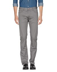 Henry Cotton's Gray Casual Pants for men